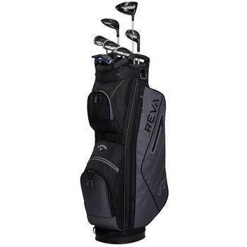 Callaway Reva 8 Piece Ladies Golf Package Set - Black