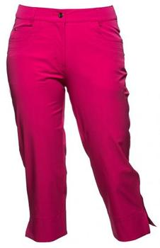Daily Sports Marina 74cm Ladies Golf Capri Trousers   Raspberry (A20)