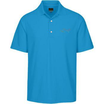 Greg Norman Protek Micro Polo Shirt  Aquamarine Small