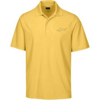 Greg Norman Protek Micro Polo Shirt  Solar Yellow Small