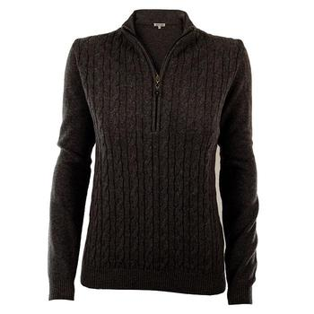 Green Lamb Bella Superwool Sweater - Black (A5)