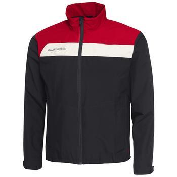 Austin Gore-Tex Jacket – Black/Red/Snow Mens Small Black/Red/Snow