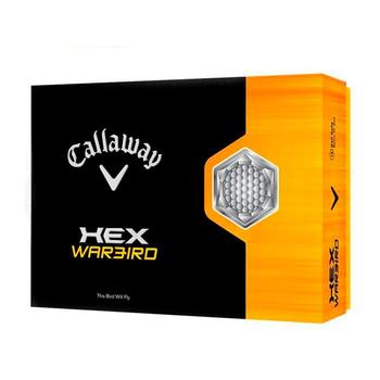 Callaway Hex Warbird Golf Balls - Yellow (One Dozen)