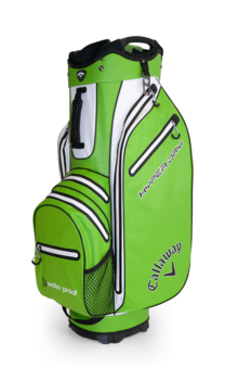 Callaway Hyper Dry Cart Bag  Acid Green  White  Black