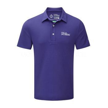 Oscar Jacobson Collin Tour Polo Shirt - Blue _ Size: Medium