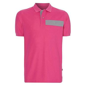 Oscar Jacobson Gustaf Polo Shirt - Pink - Size: Large