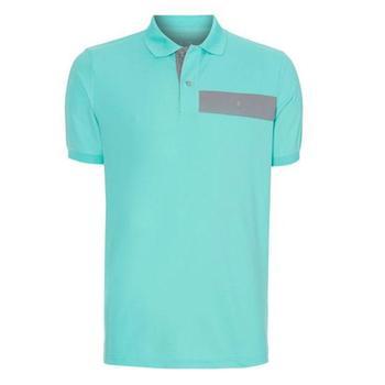 Oscar Jacobson Gustaf Polo Shirt - Green - Size: Medium