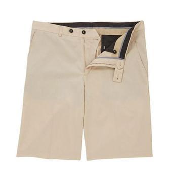 Oscar Jacobson Gaston Classic Golf Shorts - Beige  -Size: 34
