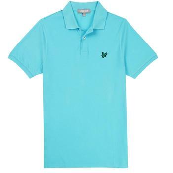 Lyle & Scott Club Polo Shirt - Aqua