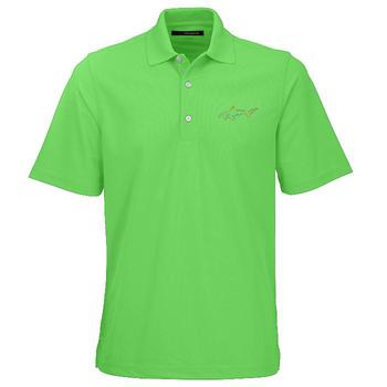 Greg Norman Protek Micro Polo Shirt  Island Green Small (GNS6)