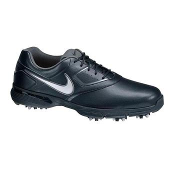 Nike Heritage III Golf Shoes Black/Silver - Size: 7