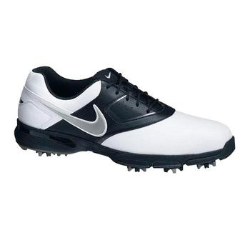 Nike Heritage III Golf Shoes White/Black - Size: 7