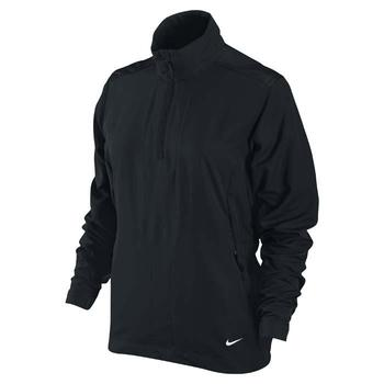Nike Ladies Windproof 1/2 Zip Jacket Black