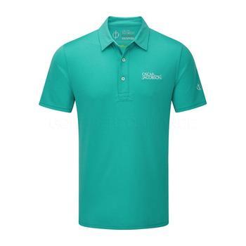 Oscar Jacobson Collin Tour Polo Shirt - Green _ Size: Medium