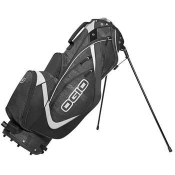 Ogio Shredder Golf Stand Bag - Charcoal/Black/Silver