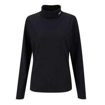 Ping Collection Ladies Maple II Roll Neck Top (P93169) Black