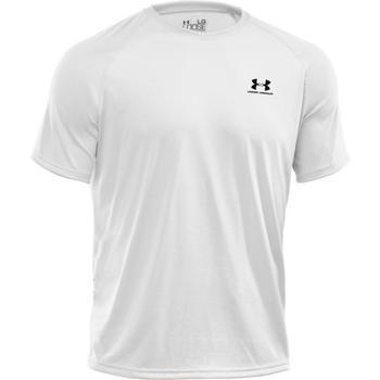 Under Armour Mens Tech Short Sleeve T-Shirt White Large (1229078)