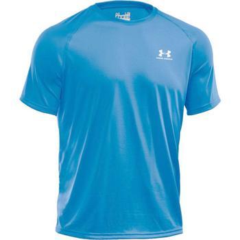 Under Armour Mens Tech Short Sleeve T-Shirt Electric Blue Small (1229078)
