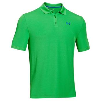 Under Armour Performance 2.0 Golf Polo Shirt (1242755-319) Feisty Green XX Large