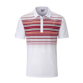 Cortes Polo Shirt Mens Large White/Red