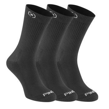 Ping Mitchell Golf Socks 3 Pair Pack  Black