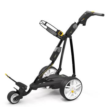 Powakaddy FW3i Electric Golf Trolley  Black 18 Hole Lead Acid
