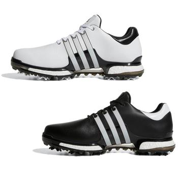 Image of Adidas Tour 360 2.0 Golf Shoes Gender: Mens, Size: UK 7, Width: Wide, Colour: White