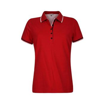 Green Lamb Patricia Club Golf  Shirt - Red/White (A7)