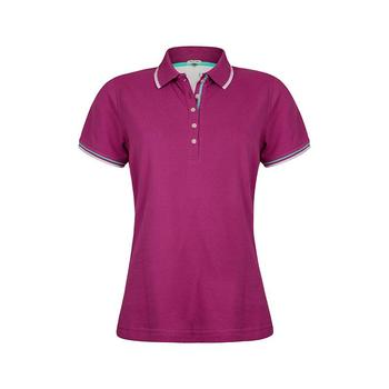 Green Lamb Patricia Club Golf  Shirt - Violet/White (A7)