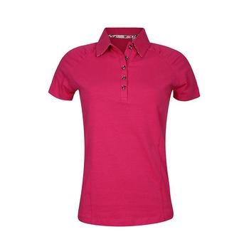 Green Lamb 24/7 Camac Gathered Sleeve Golf  Shirt - Hot Pink (A4)