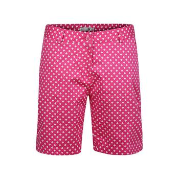 Green Lamb 24/7 Liffey Print Shorts - Hot Pink/White (A4)