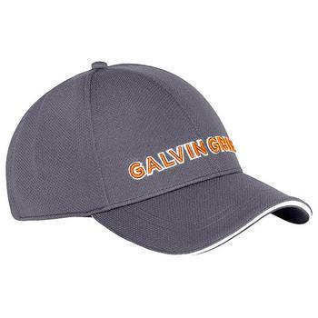 Galvin Green Stone Golf Cap - Iron Grey/Orange