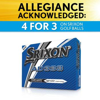 Compare retail prices of AD333 Personalised Golf Balls 3 Dozen +1 Free to get the best deal online