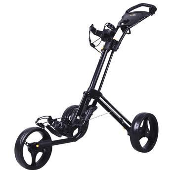 Powakaddy TwinLine 4 Lite Push Trolley – Black