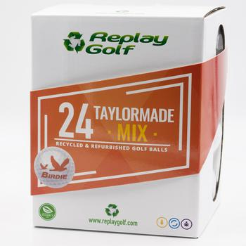 Replay Golf Top Birdies 24 Lake Balls  Taylormade Mix  2 Dozen