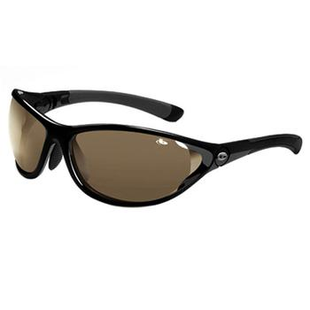 Buy Bolle Traverse Sun Glasses (Shiny Black-Modulator Grey) at www.golfgeardirect.co.uk