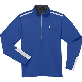Under Armour Cold Gear Infrared Thermo ½ Zip Golf Sweater - Moon Shadow Blue - X Large