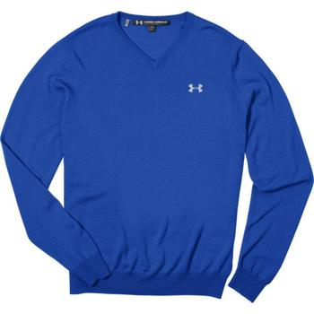 Under Armour V Neck Merino Sweater - Large