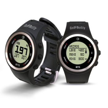 Golf Buddy WT6 Golf GPS Watch  Black