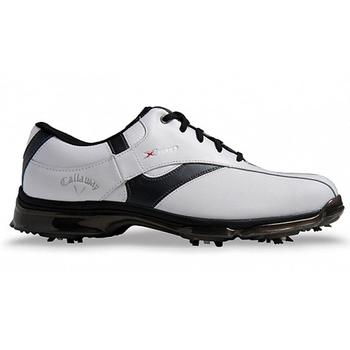 Callaway X Nitro Golf Shoes - White/Black - Size: 7.5