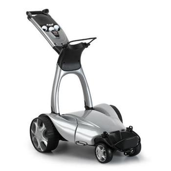 Stewart Golf X9 Remote Trolley - Metallic Silver