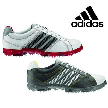 Adidas Adicross Tour Golf Shoes - Iron/White - Size: 7.5