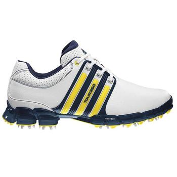 Adidas Tour 360 ATV M1 White/Yellow Golf Shoes