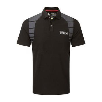 Oscar Jacobson Adrian Tour Polo Shirt - Black _ Size: Small