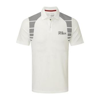 Oscar Jacobson Adrian Tour Polo Shirt - White _ Size: Small