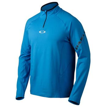 Oakley Advance 1/4 Zip Pullover - Blue