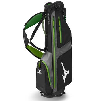 Mizuno Aerolite Micro 6 Stand Bag Black/Slime