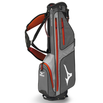 Mizuno Aerolite Micro 6 Stand Bag Grey/Orange