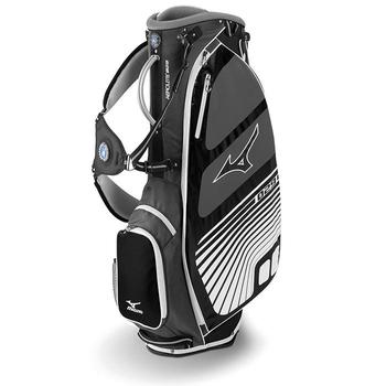 Mizuno Aerolite 5 Stand Bag Charcoal/White