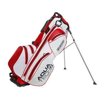 Ogio Aquatech Golf Stand Bag - White/Red